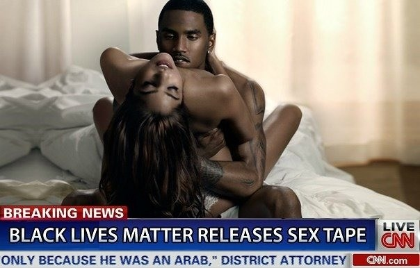 """Black Lives Matter Releases Sex Tape. Montgomery said the action in the film is purposely bland, unoffensive and quick, so that """"white people can relate to it""""."""