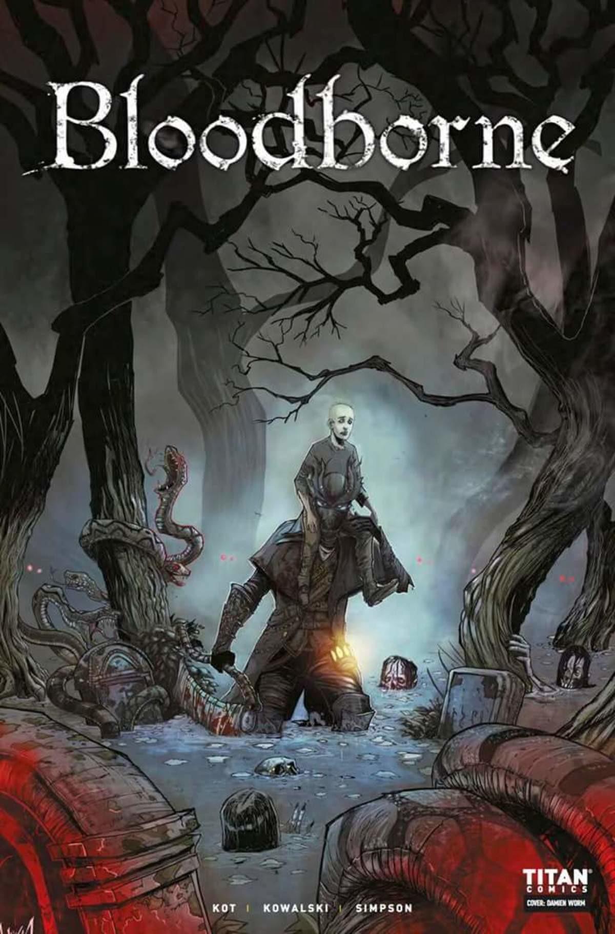 Bloodborne comic chapter 2. .