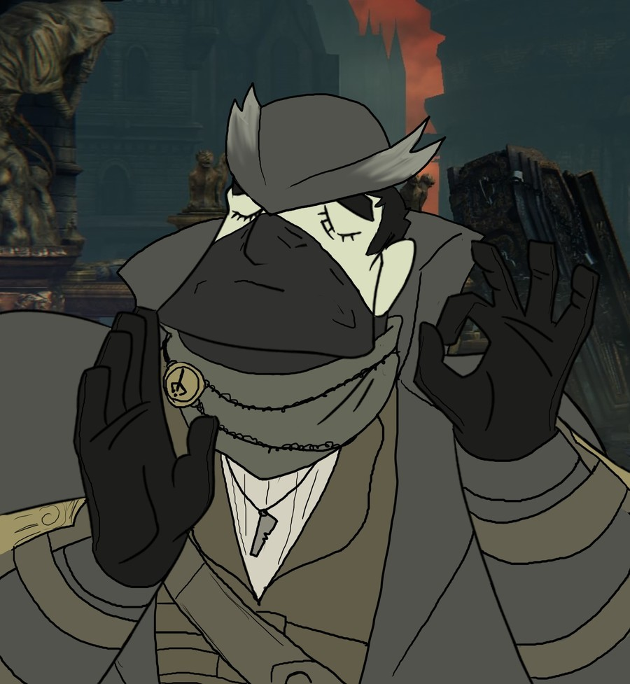 """Bloodborne Dump. When you hit the visceral just right... Old Ones... Obligatory JoJo Reference For <a href=""""certifiedbronze"""">certifiedbronze<"""