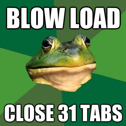 Blow load. .