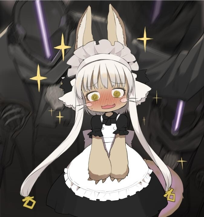 Bondad Gives Nanachi a Cute Outfit. join list: MonMusuManiacs (1575 subs)Mention History join list:. >actual full length skirt This pleases me.