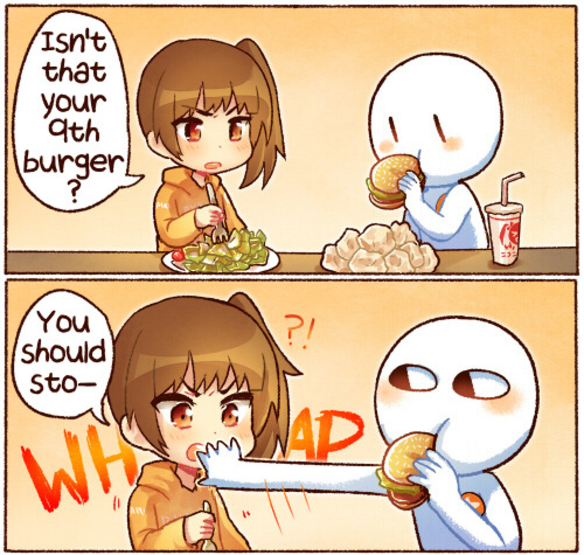 Borger Connoisseur. .. I'd honestly be more impressed than disgusted