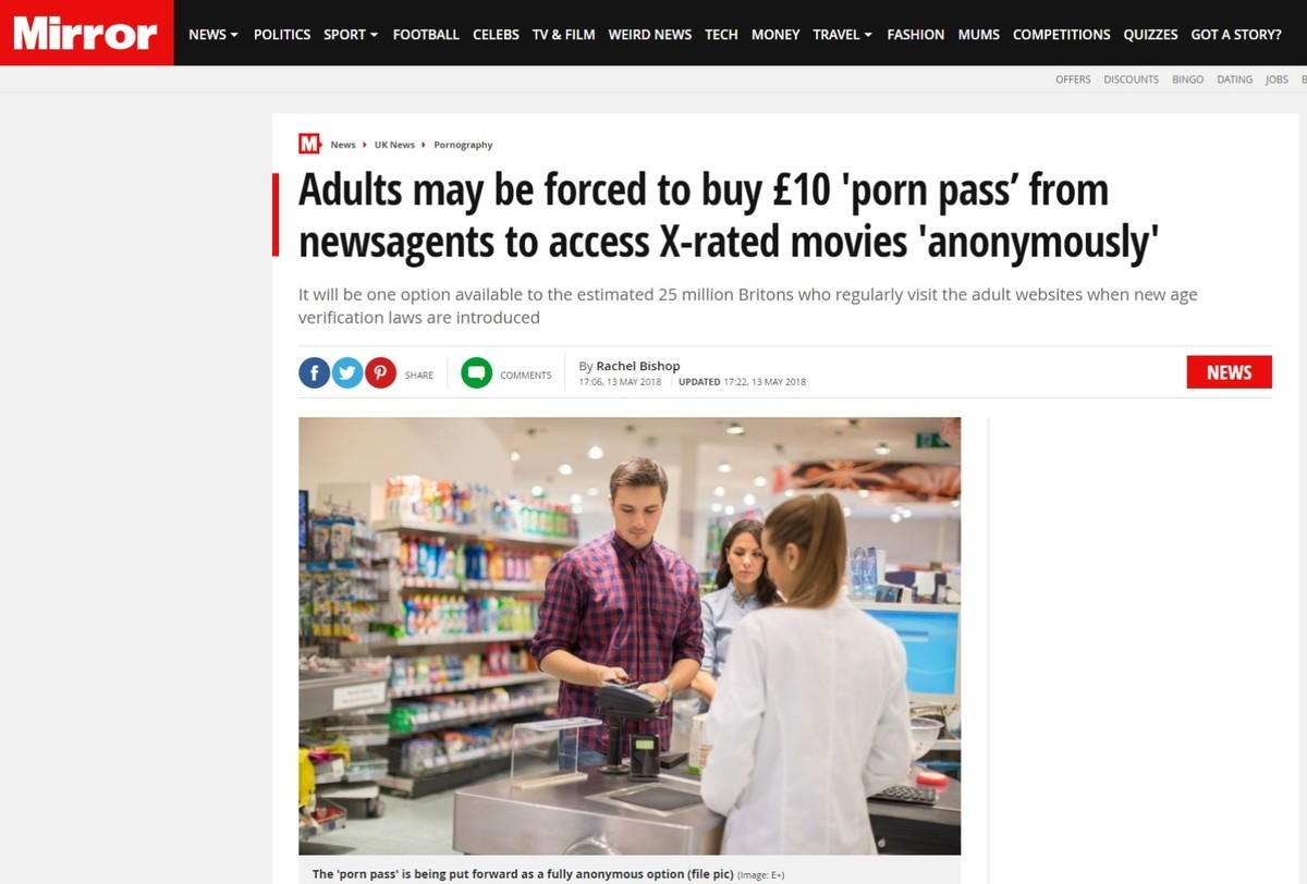 Britons Pass/License. https://www.mirror.co.uk/news/uk-news/adults-buy-10-porn-pass-12527153. l . POLITICS spoon FOOTBALL CELEBS worm rows TECH .' JNE' f FASHIO