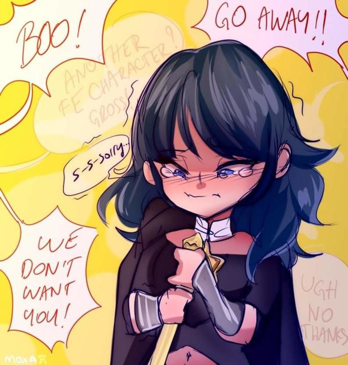 Bullied Byleth. .. Byleth is too busy seducing every single student and faculty member in the monastery to care about the complaints.