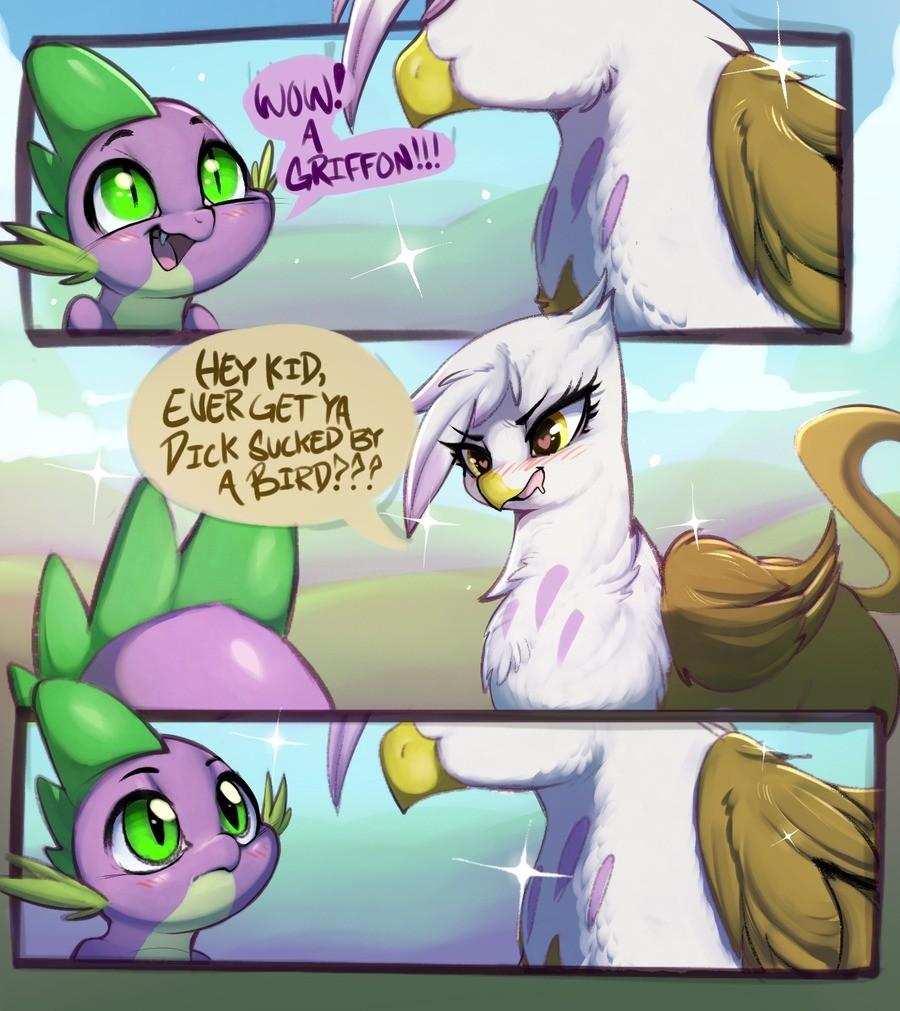 By a bird?. Sauce: .. >Spike