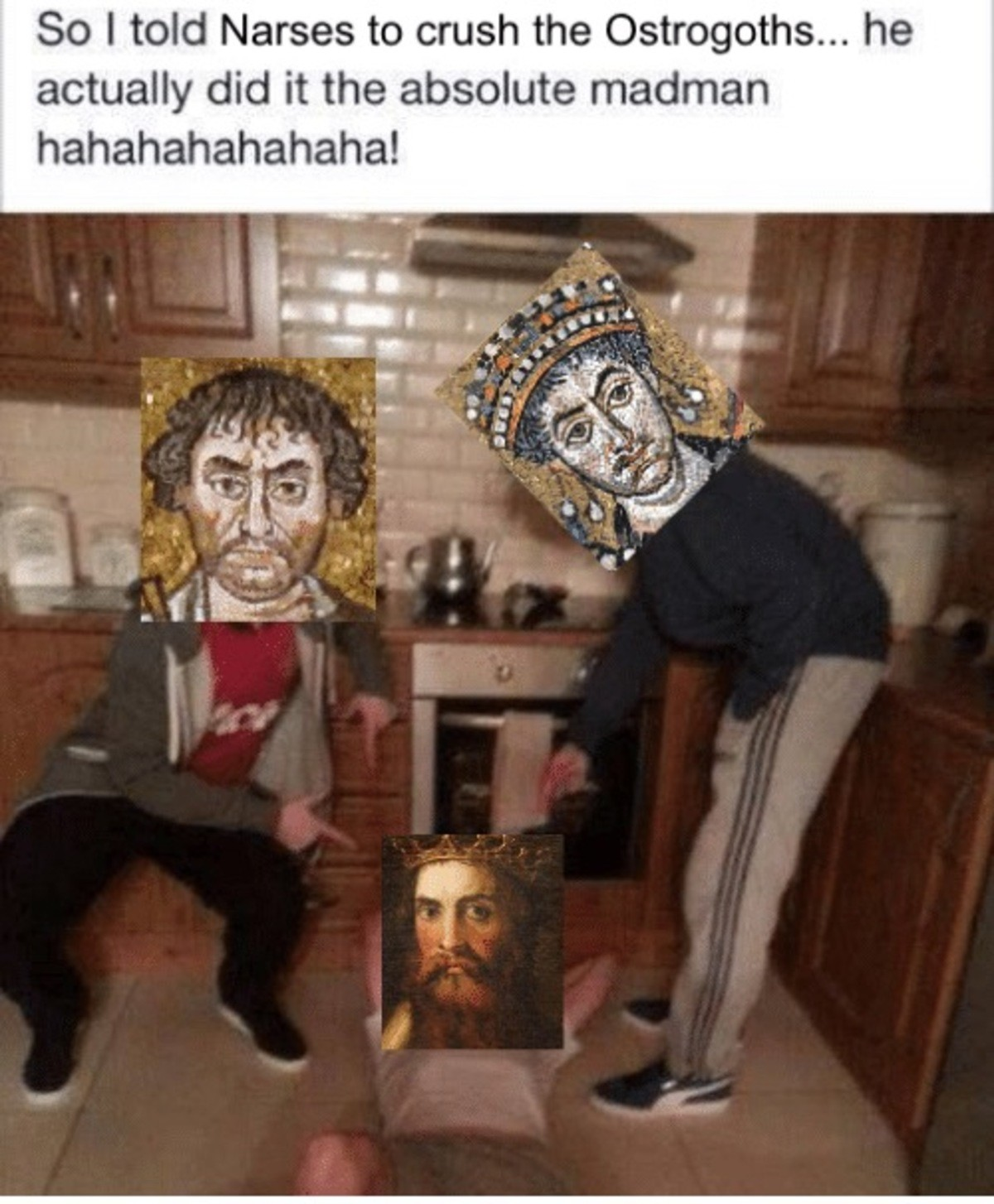 Byzantine Memes 1.  join list: EastRomans (33 subs)Mention Clicks: 178Msgs Sent: 312Mention History.