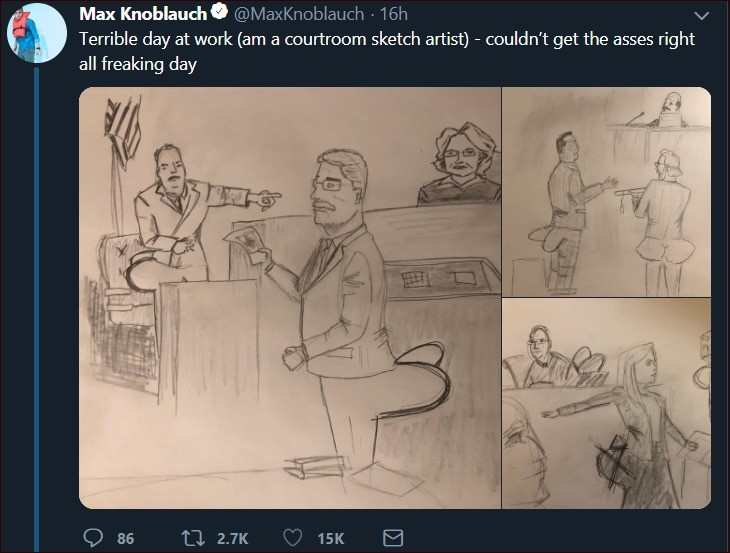 can draw hands but not ass. Hrrg...your honor I'm trying to ask questions but I'm dummy thicc and the clap from my asscheeks keeps distracting the witness.. HRRRNG COLONEL I'M TRYING TO CROSS-EXAMINE THE WITNESS BUT I'M DUMMY THICC AND THE CLAP FROM MY ASS CHEEKS KEEPS ALERTING THE PROSECUTOR