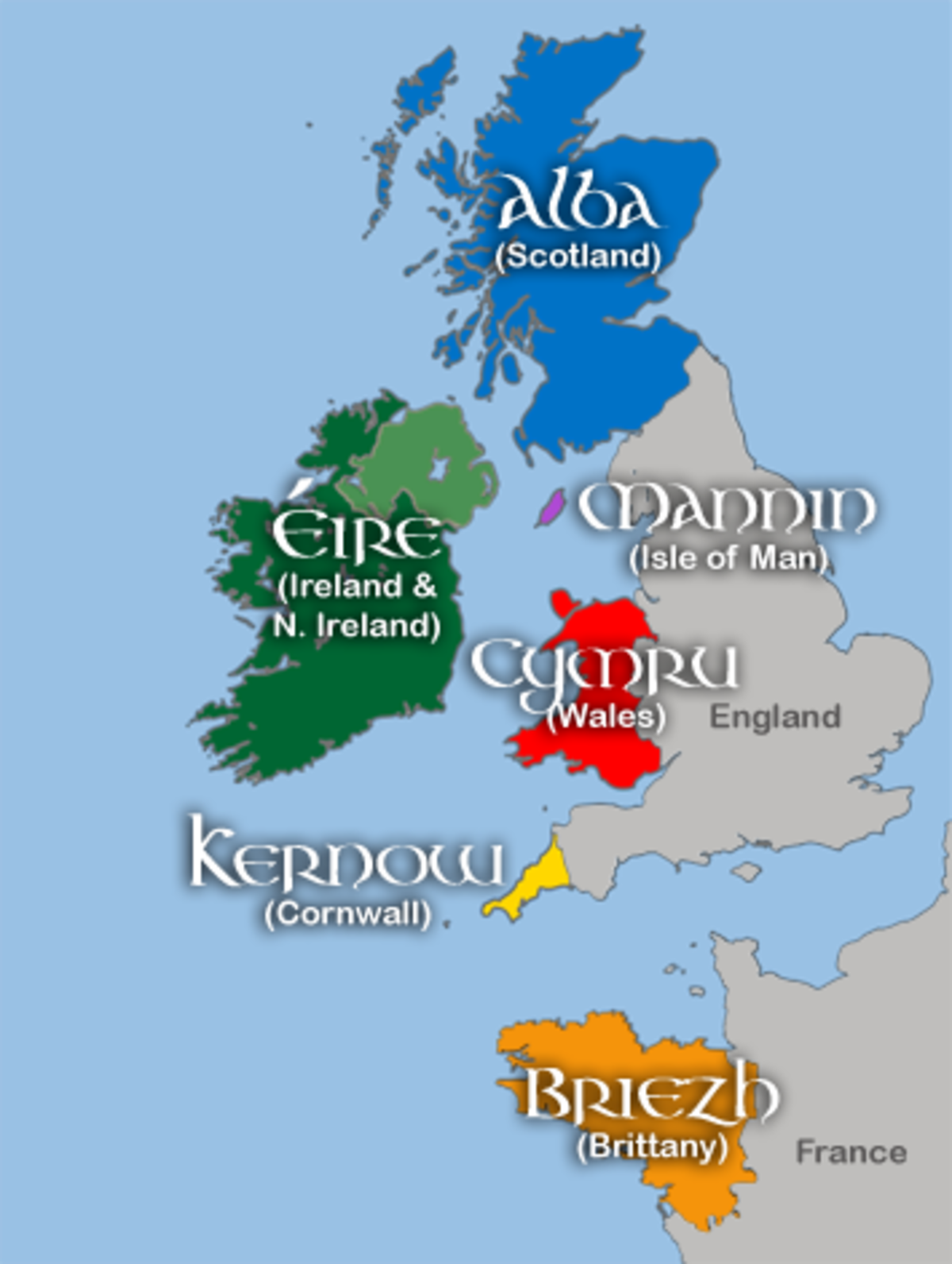 Celtic Nations. .. It's Briezh bitch