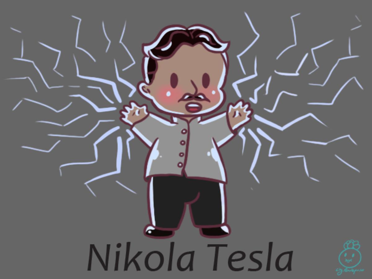 chibi Nikola Tesla. Chibi Tuesday #2 Chibi Nikola Tesla was a suggestion for chibi history and I'm glad how he turned out. <3 I am still taking suggestions f