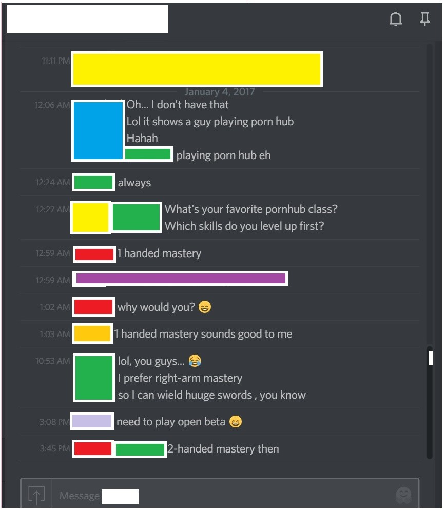 """""""colorless"""". . Oh,,, i don' t have that Lol it shows a guy playing porn hub Hahah playing porn hub en always What' s your favorite pornhub class? Which skills d"""