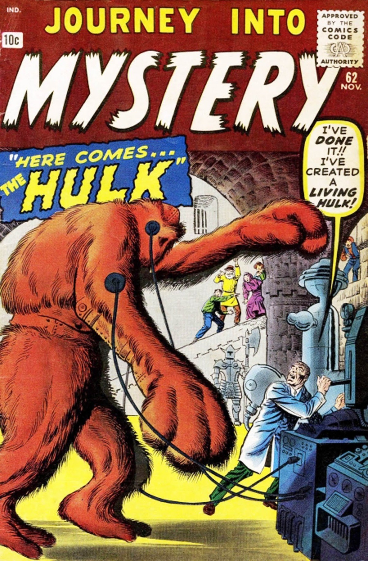 """Comics and Cape 16 Xemnu Special. Meet the first Marvel character to be called """"The Hulk"""" he's become a seldom seem villain facing off against the big"""