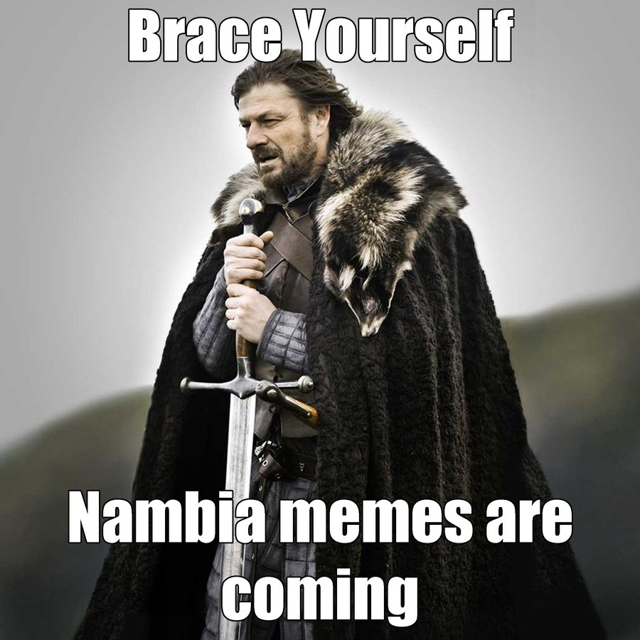 Covfefe is the capital of Nambia. .. For a moment there I thought it said Nambla....