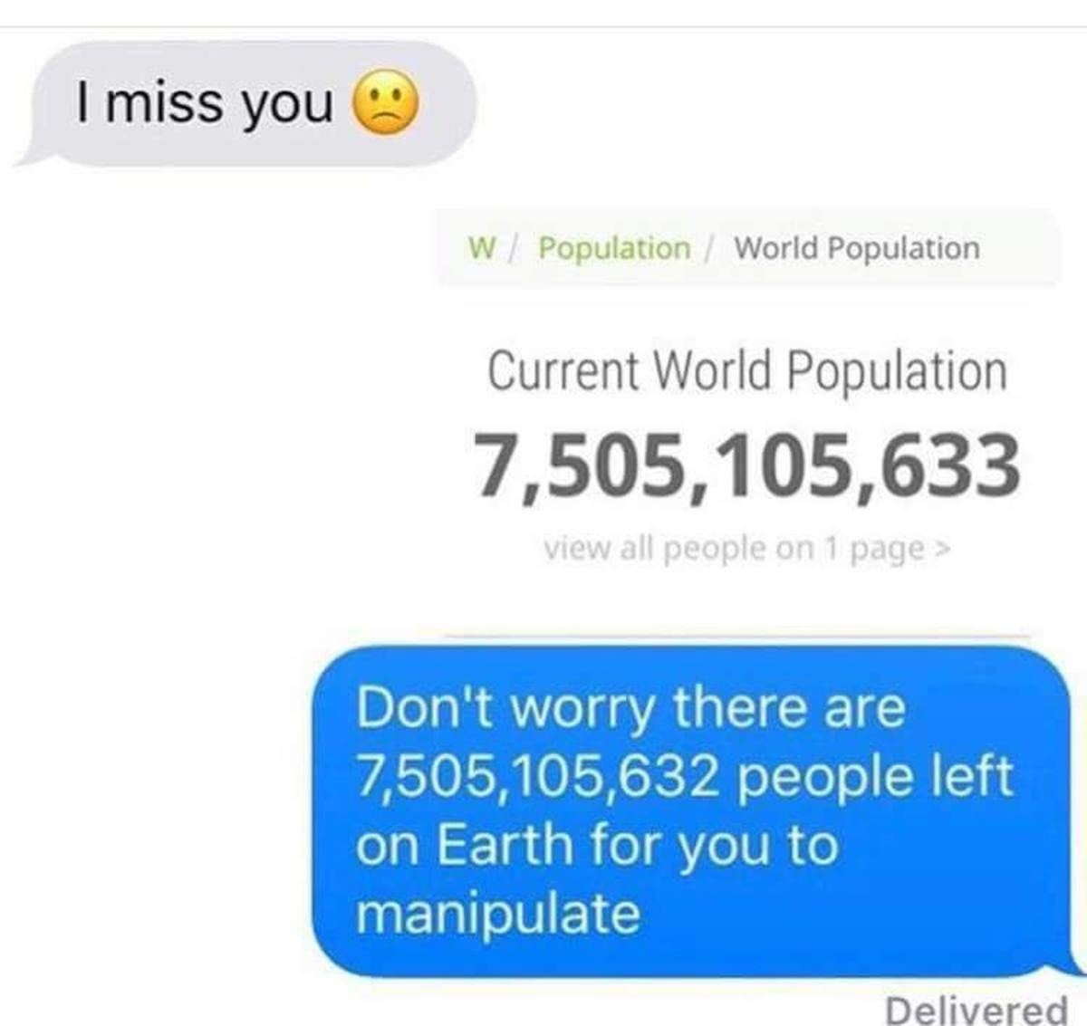 Current World Population. . I miss you (ii) IN Population World Population Current World Population for you to manipulate