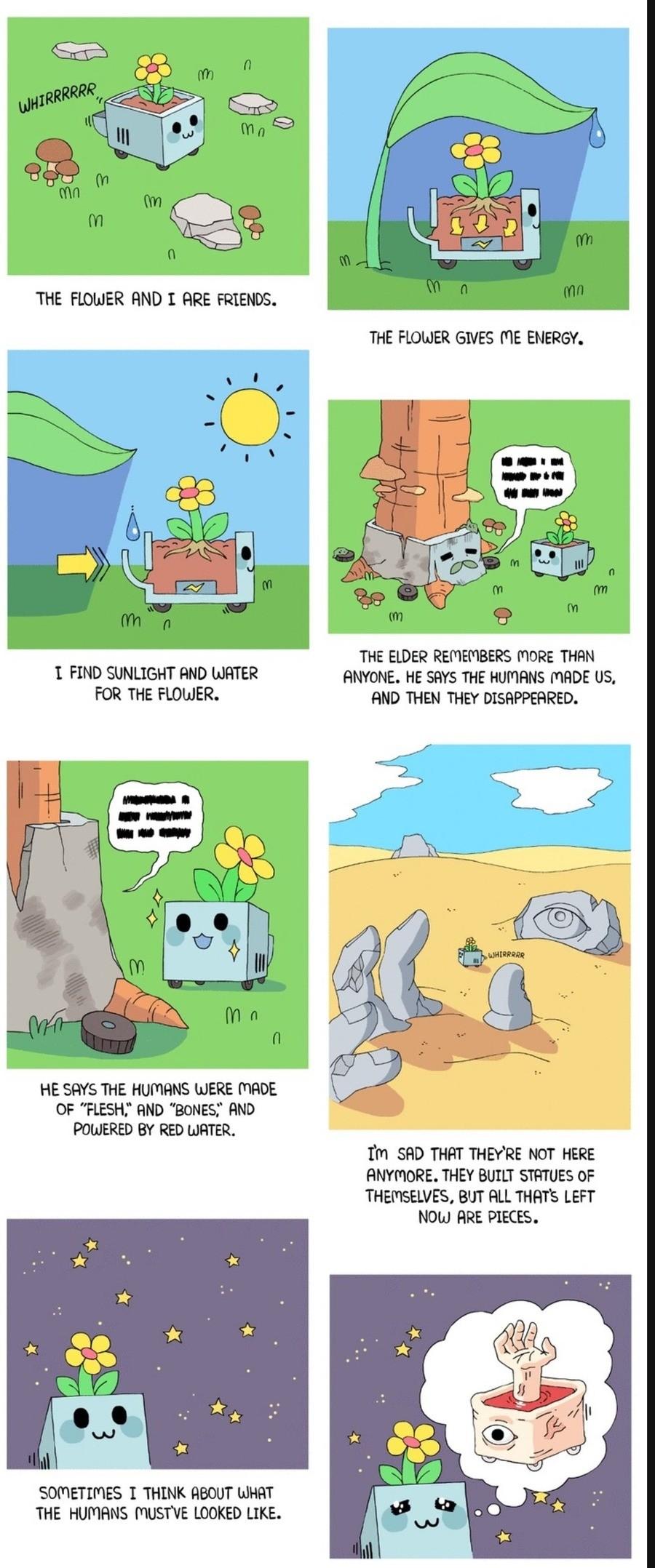 Cute Comic. .. Not far off tbh