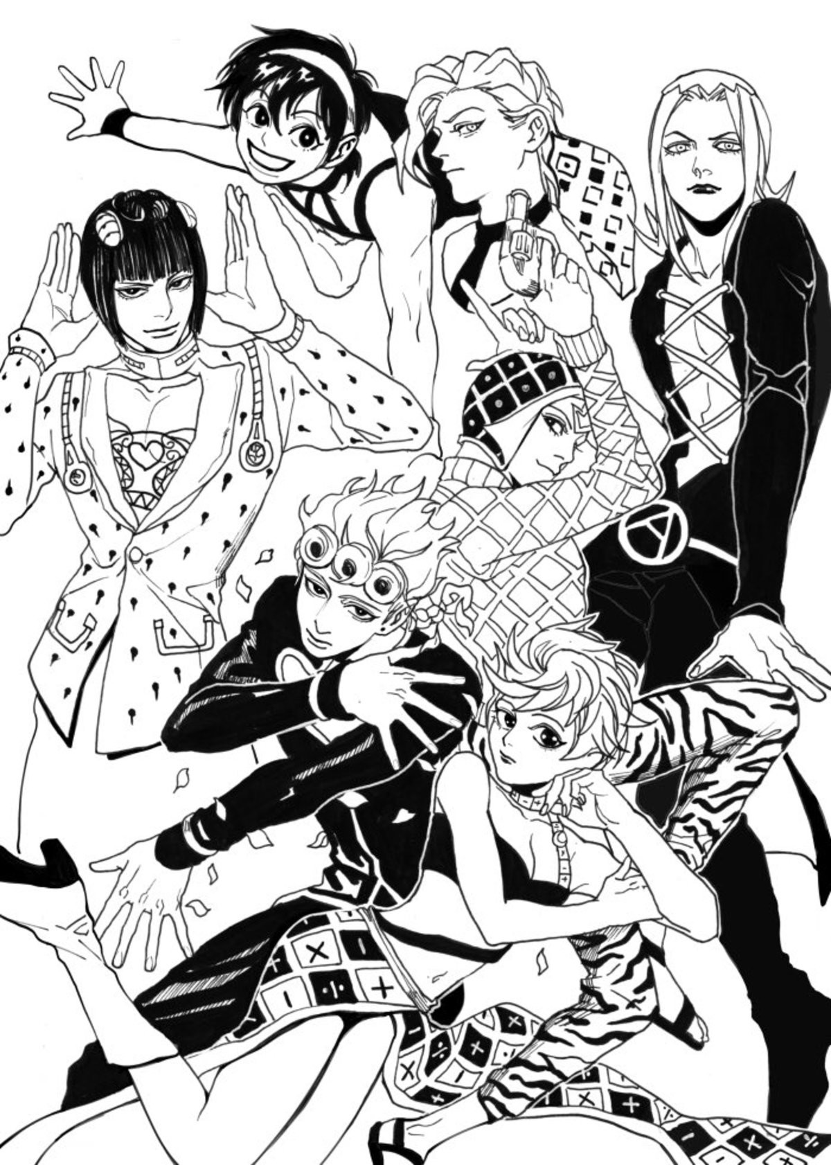 Cute Gangs. also a of Diego Source: .. Narancia is still best girl