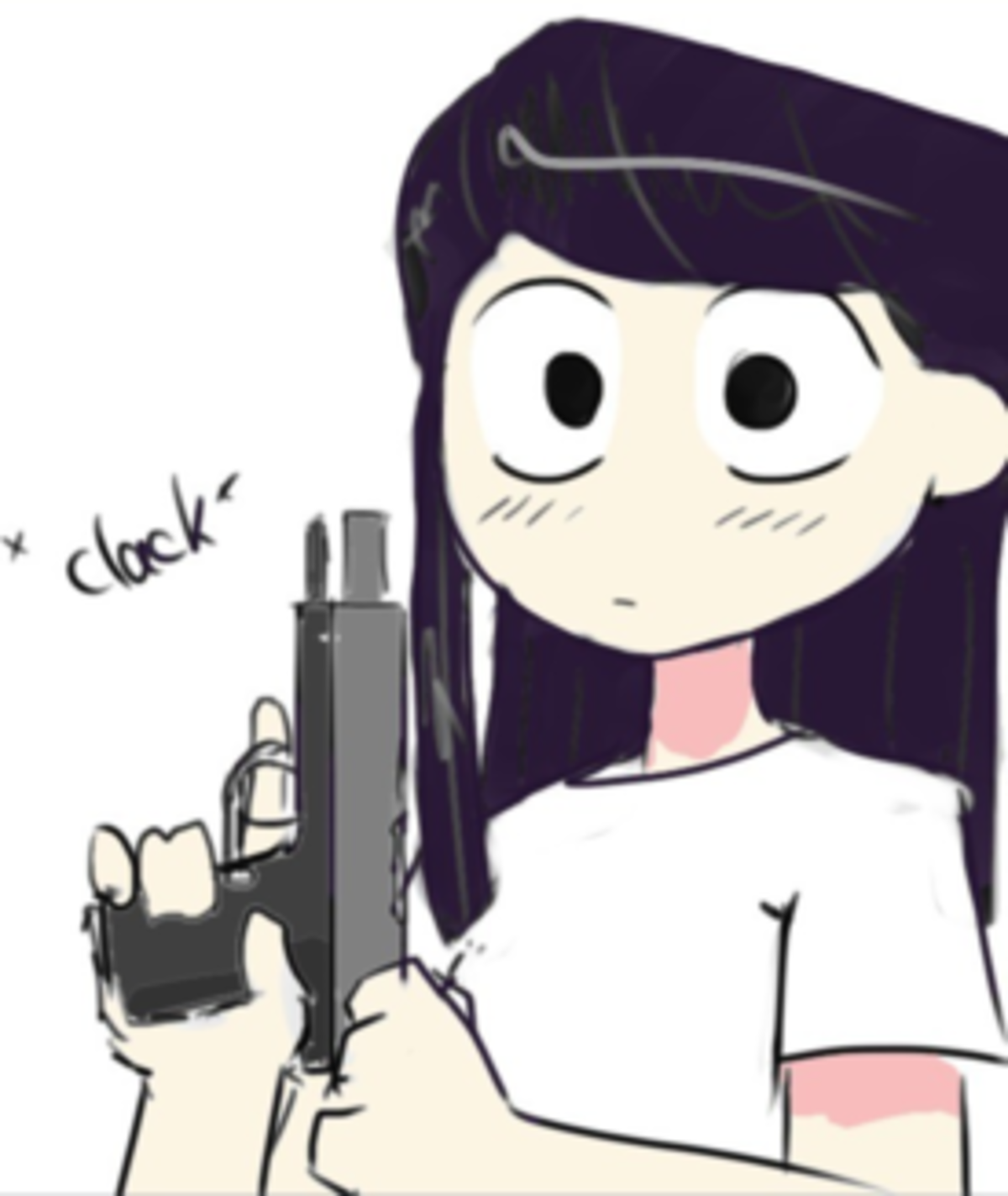 Daily Komi 2. Today is mess with the Komi, get the boomy.. I deserve those red thumb but it was a necessity before someone choose to post this.