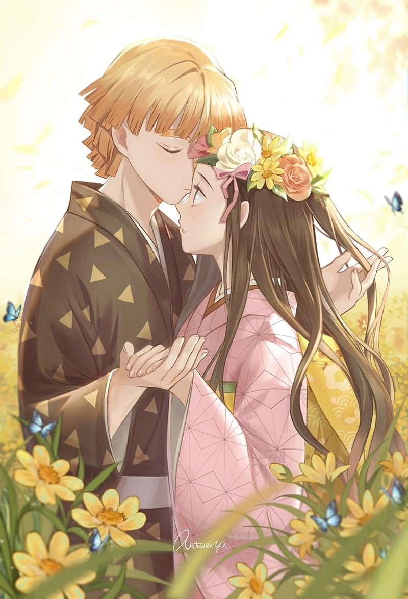 Daily Nezu - 344: Wedding. join list: DailyNezuko (313 subs)Mention History Source: .