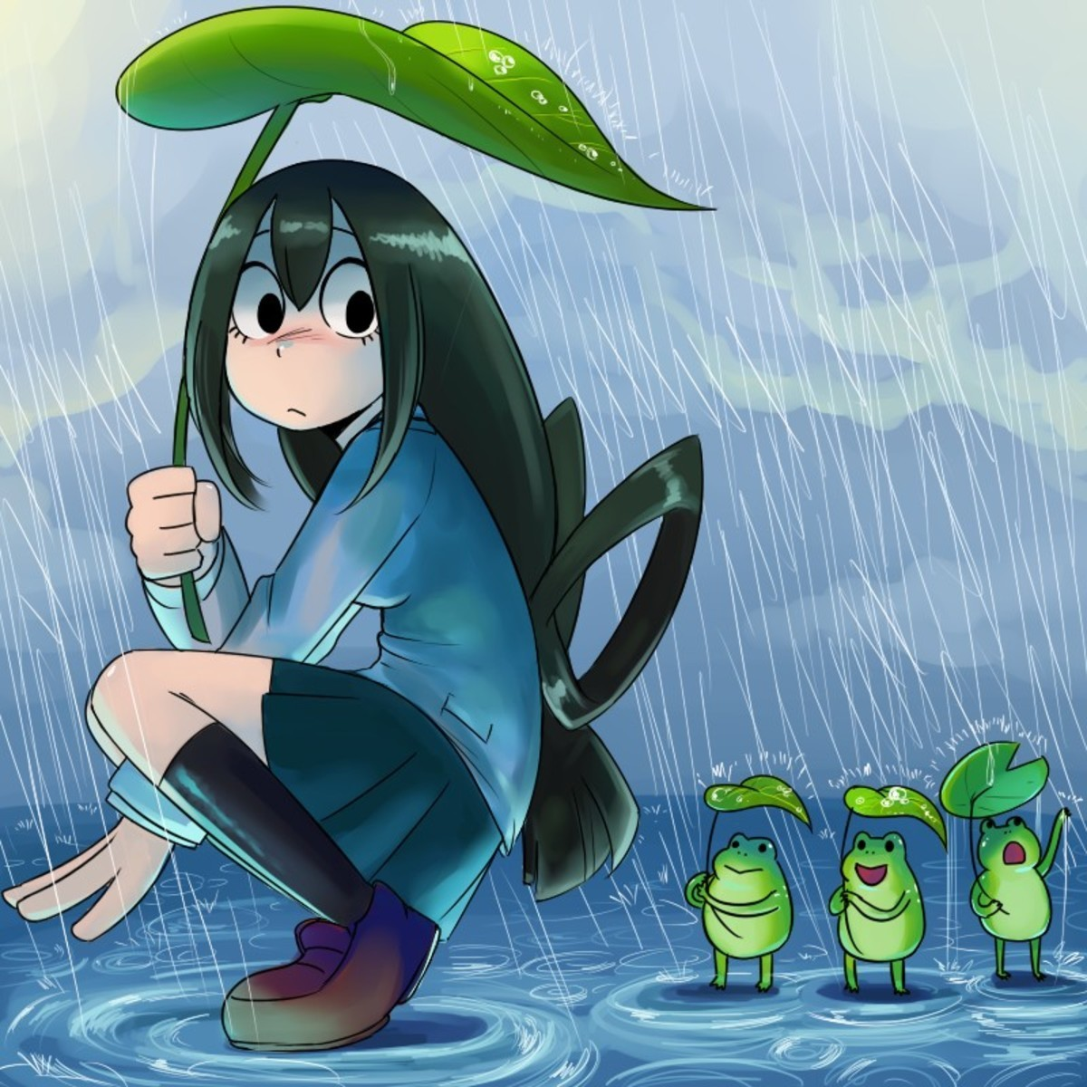 Daily Tsuyu 19. join list: BestgirlTsuyu (452 subs)Mention Clicks: 33826Msgs Sent: 199856Mention History.. cute