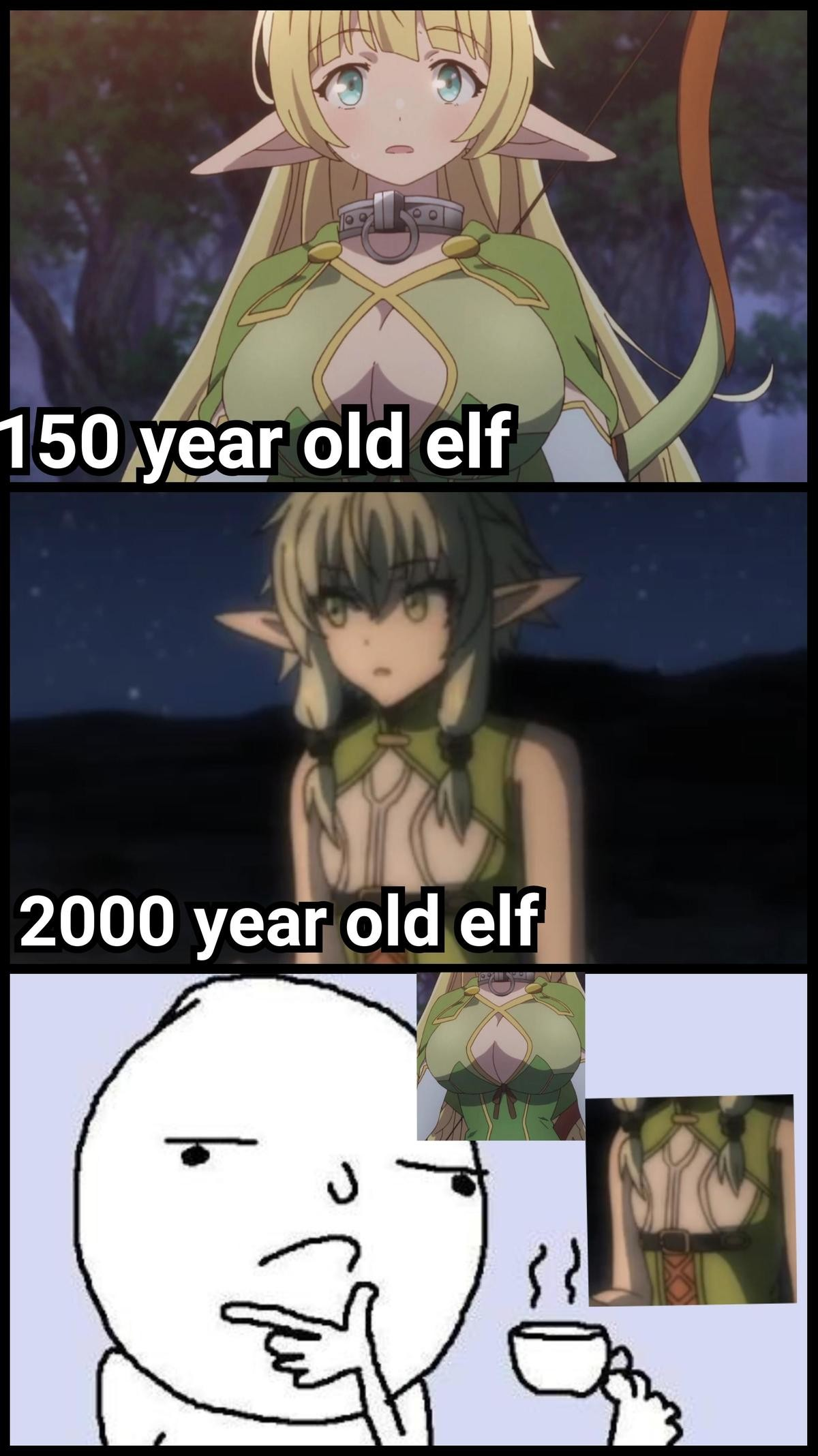 Damn Elven Anatomy, How Does It Even Work!?. Source join list: CuteMonsterWaifu (1350 subs)Mention History.. By that logic, elven babies are seriously stacked.