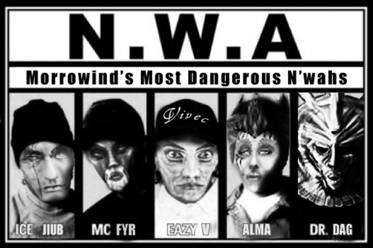 Damn N'wahs. .. Those aren't n'wah. They call foreigners n'wah.