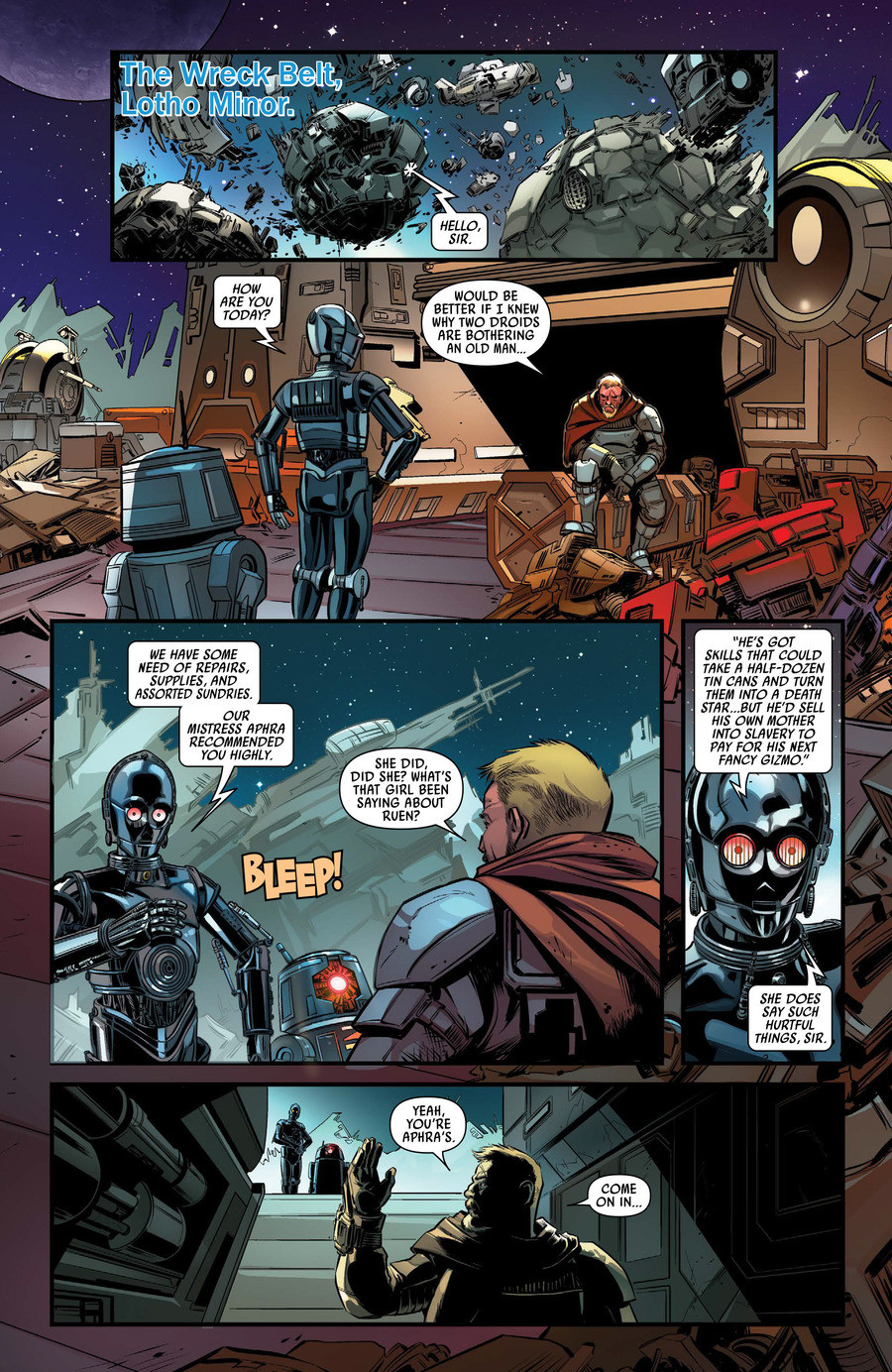 Darth Vader BT-1 and 000 Side story. .. A side story with everyones favorite evil droid duo join list: StarWarsDarthVaderMention History Also, if you like these comics, please support the official rel