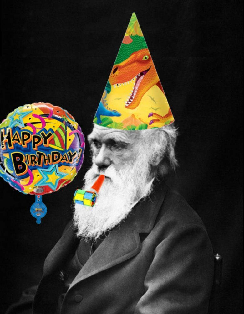 Darwin Day. Happy belated birthday Charles Darwin!<br /> February 12, 1809<br /> I tried to post this yesterday but failed.<br /> I blame Comc