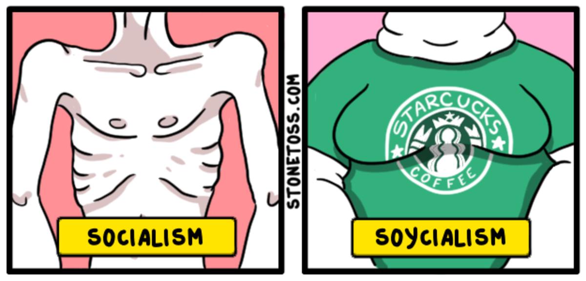 Das Kappuccino. Source: https://stonetoss.com/comic/das-kappuccino/ Support the artist: https://hatreon.net/stonetoss/.
