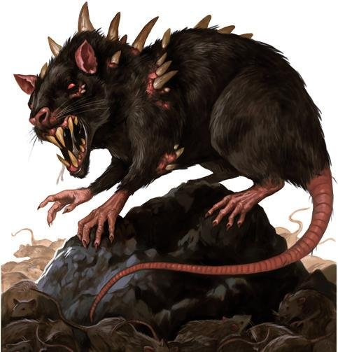 D&D Strong mediocre Monsters. Dire Rats The Dire rat can be seen as merely a pest when alone, but when in a large group these Dire rats will tear apart party me