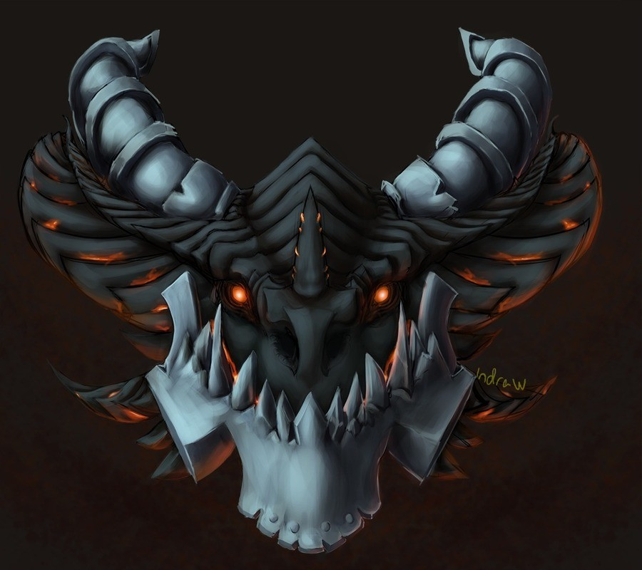 Deathwing 2: electric boogaloo - not a doodleydoo. Tinkered with the deathwing sketch I did a while ago More of my stuff - https://in-draw.deviantart.com/.. Looks wicked af!