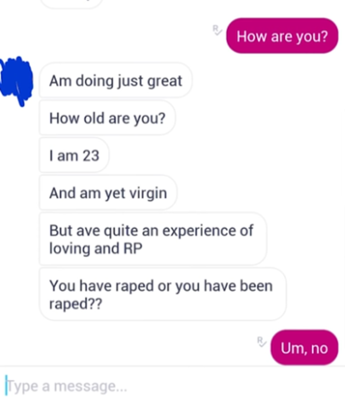 demonic hurried lazy Caterpillar. .. Not weird that you are a virgin if you start a conversation about how you'd like to adding roleplay under doubt rape them