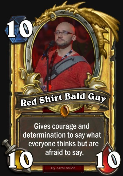 Diablo. .. Heroes don't wear capes. They wear red shirts.