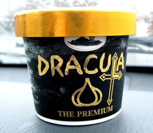 dracula ice cream. .