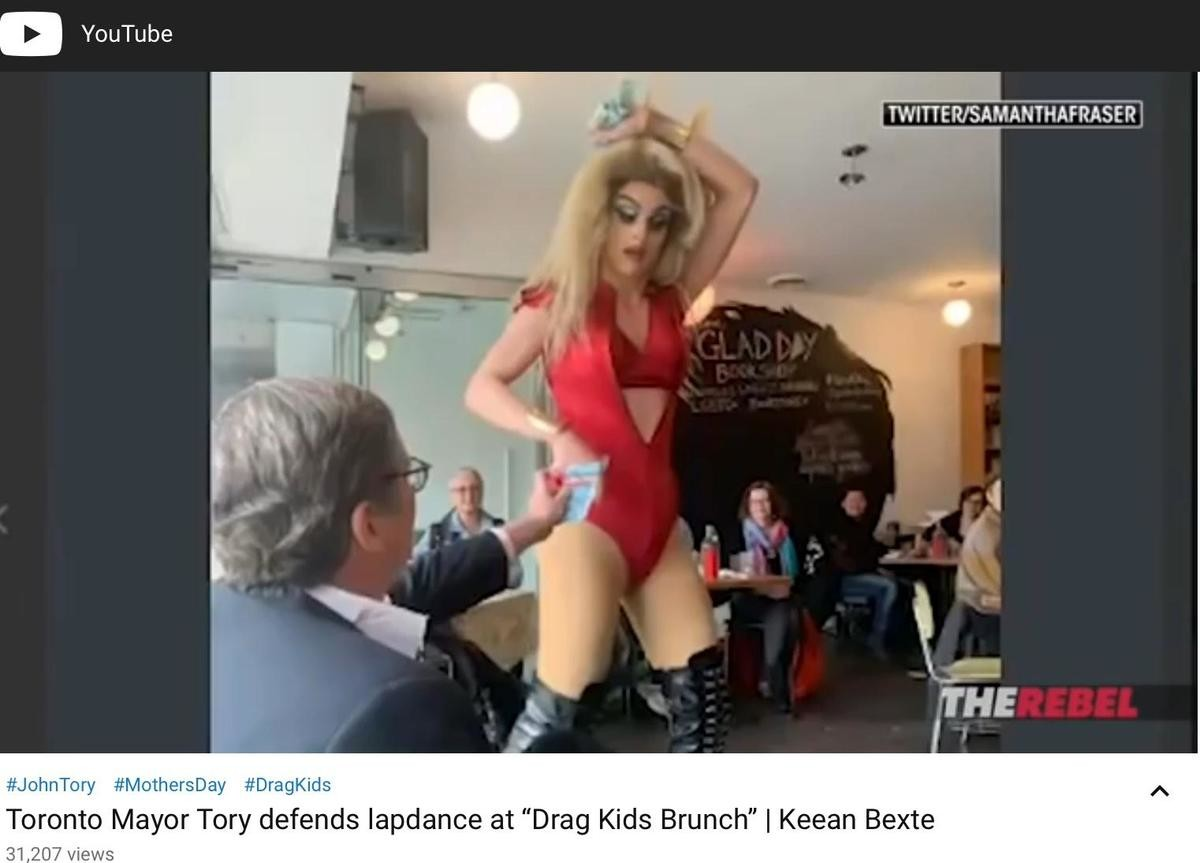 """""""Drag Kids Brunch"""". WHY ARE LEFTISTS LIKE THIS? THESE ARE CHILDREN!!.. this earth"""