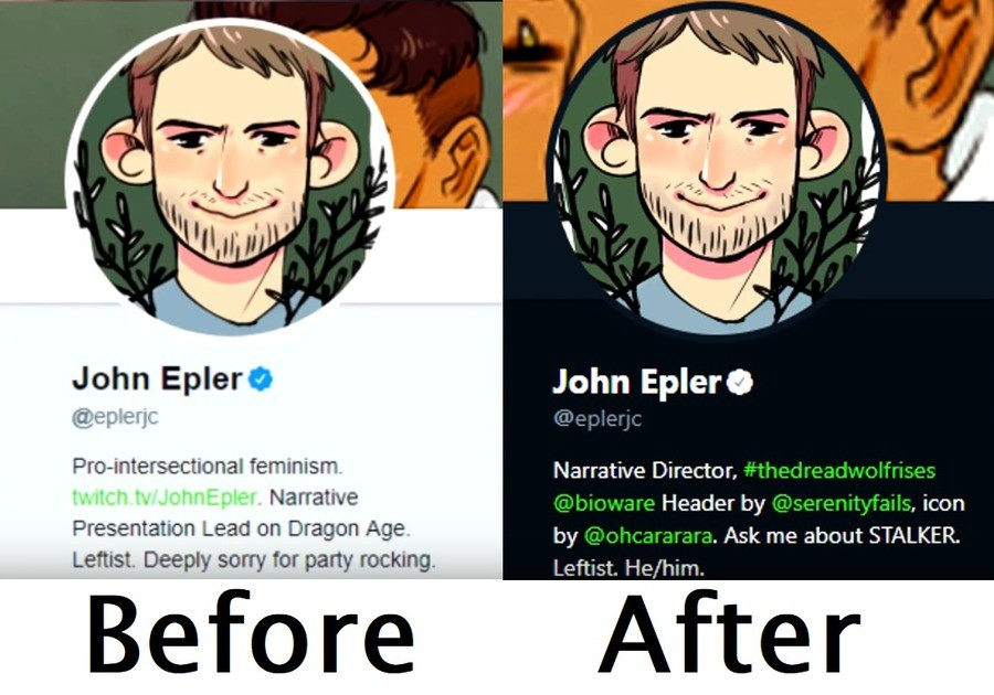 "Dragon Age 4 Narrative Director vs someone who played the games. He changes his description after the tweet below.. In Dragon Age: Origins With the ""city elf"" prologue/origin story a human lord oppresses the elves and rapes and murders your betrothed. In the Dwarven"