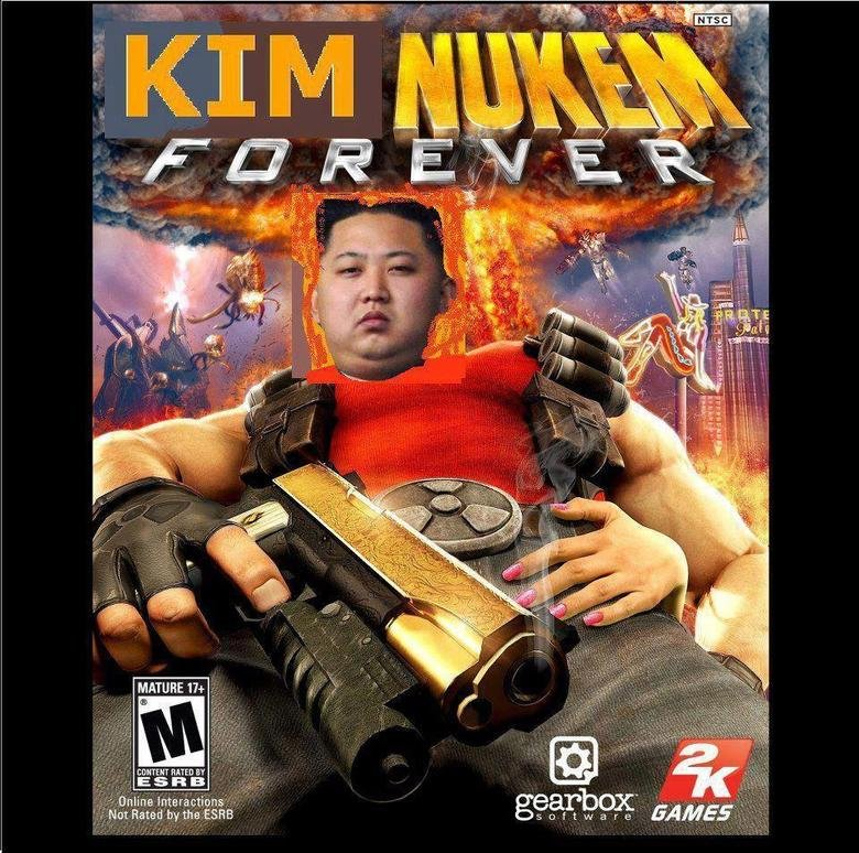 Duke Nukem.... Had an idea, also i have amazing paint skills, clearly... It would be a improvement.
