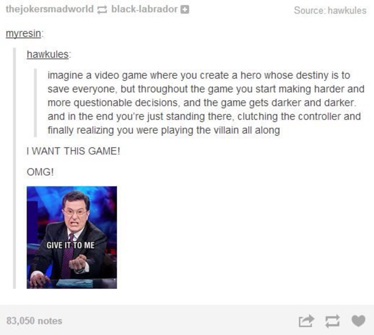 Either Die a Hero. .. OMG I WANT A GAME THAT LITERALLY HASNT BEEN DESCRIBED AT ALL whoever made this post originally