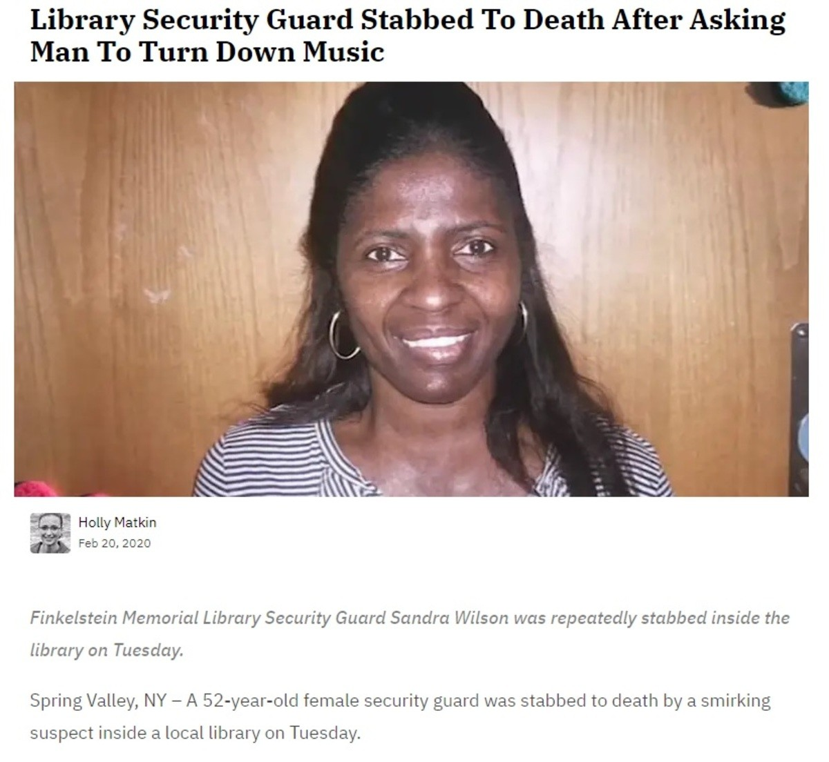 EOW for Library Security. n5YstpNy4BcK4PbnD5HhoT3jHwIJqr0BcAEfIBts8MA Looks like I got out just in time. I've had several close calls in my 7 years. I worked at