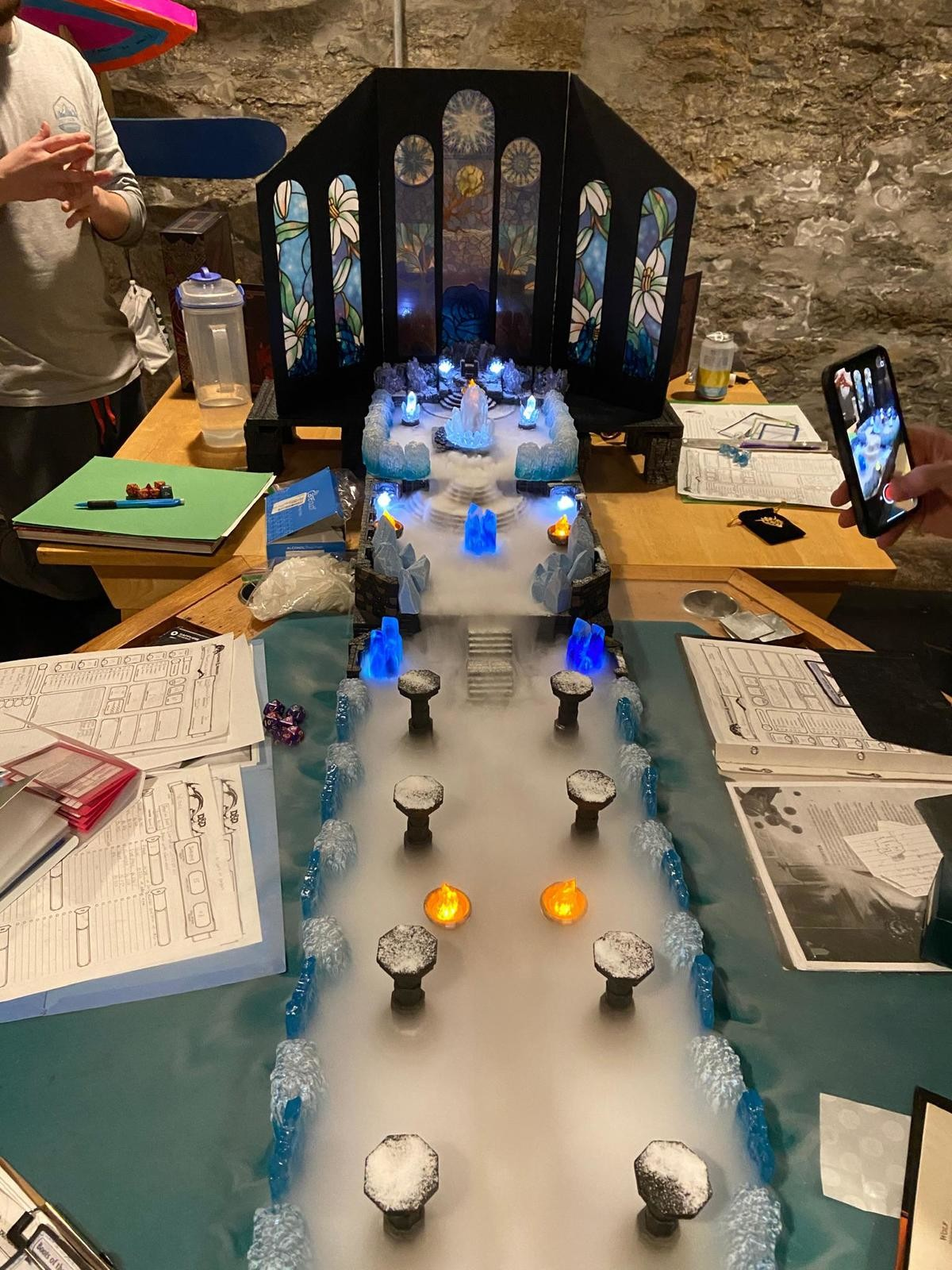 Epic Boss Battle to wrap up a 2-year campaign arc. source: .. If I ever take up DMing I want to be this extra. That looks great.