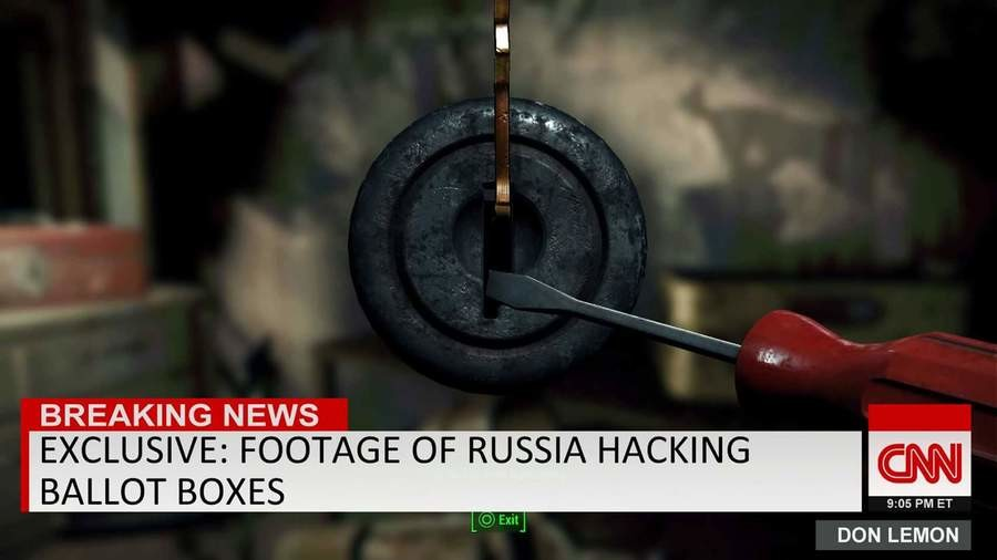 Exlusive. join list: VideoGameHumor (1689 subs)Mention Clicks: 560680Msgs Sent: 5260503Mention History. BREAKING NEWS EXCLUSIVE: FOOTAGE OF RUSSIA HACKING BALLO