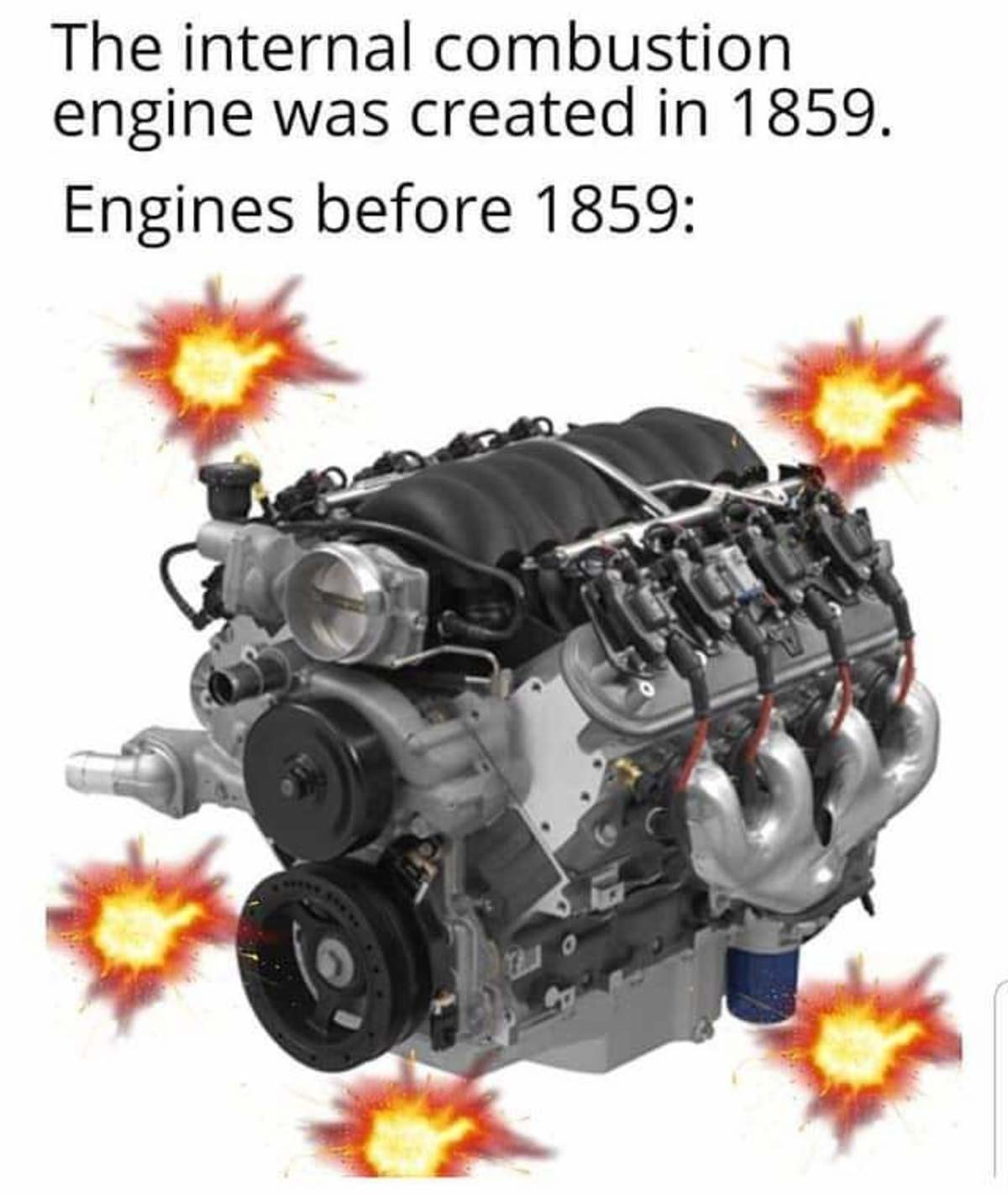 External combustion. .. The external combustion engine