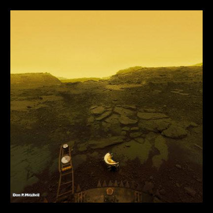 Extreme Photography. Go, New Horizons, Go!!! Top Venus Titan (Saturn's big moon) Moon (ours) Mars Mercury (flyby) Philae Earth Bottom.. A more specific location of that last one?