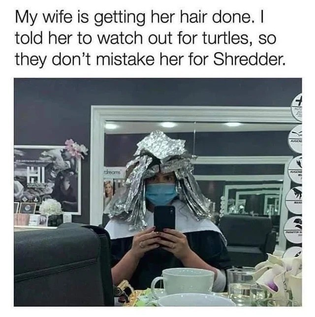 faded engraved Gazelle. .. good advice though I'd be more concerned about you in this situation if your wife is shredder that means you are part of the foot clan and you know how it is wi