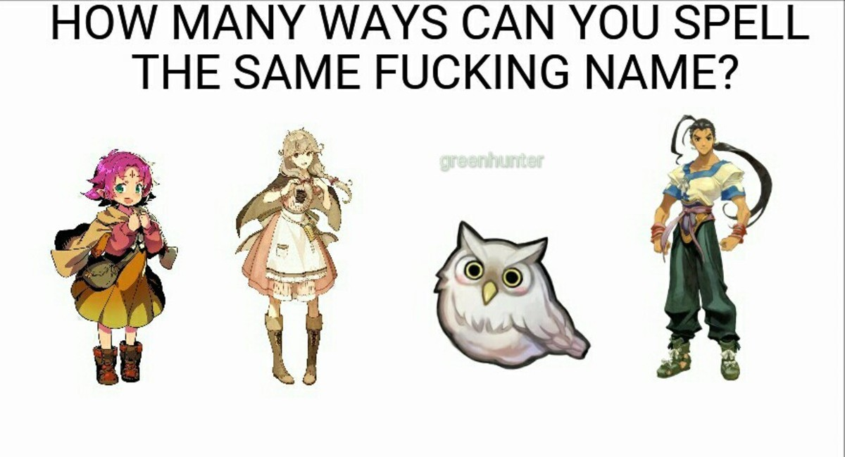 Fae, Faye, Feh, and Fei. Fae from Fire Emblem 6, Faye from Fire Emblem 15, Feh from Fire Emblem Heroes, and finally Fei from Xenogears. THE S/ UN/ IE FUCKING tn