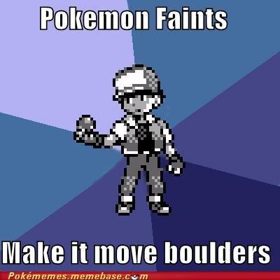 Fainting Pokemon. . It Teile Po kim em es. memebase, cw