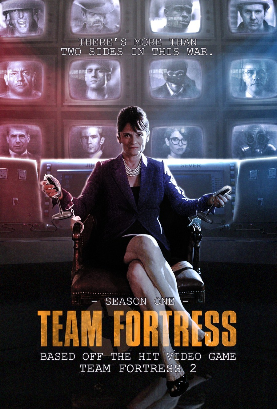 Fake TF2 TV Series Cover. Sauce: . ii alii'). lall). I'd prefer an animated series, especially if the writers of the comic were involved.