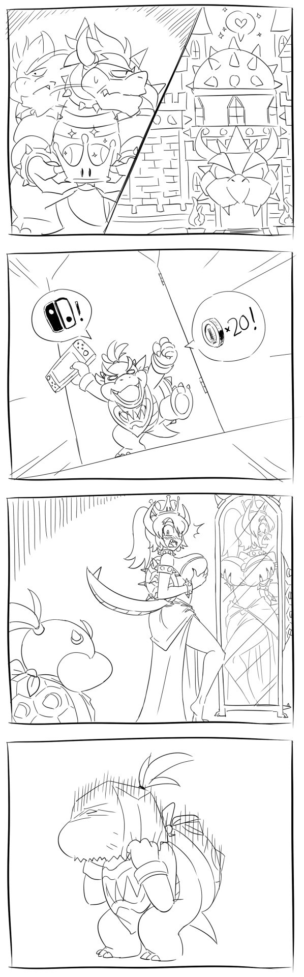 Family Embarrassment. Whoops... i still love bowsette