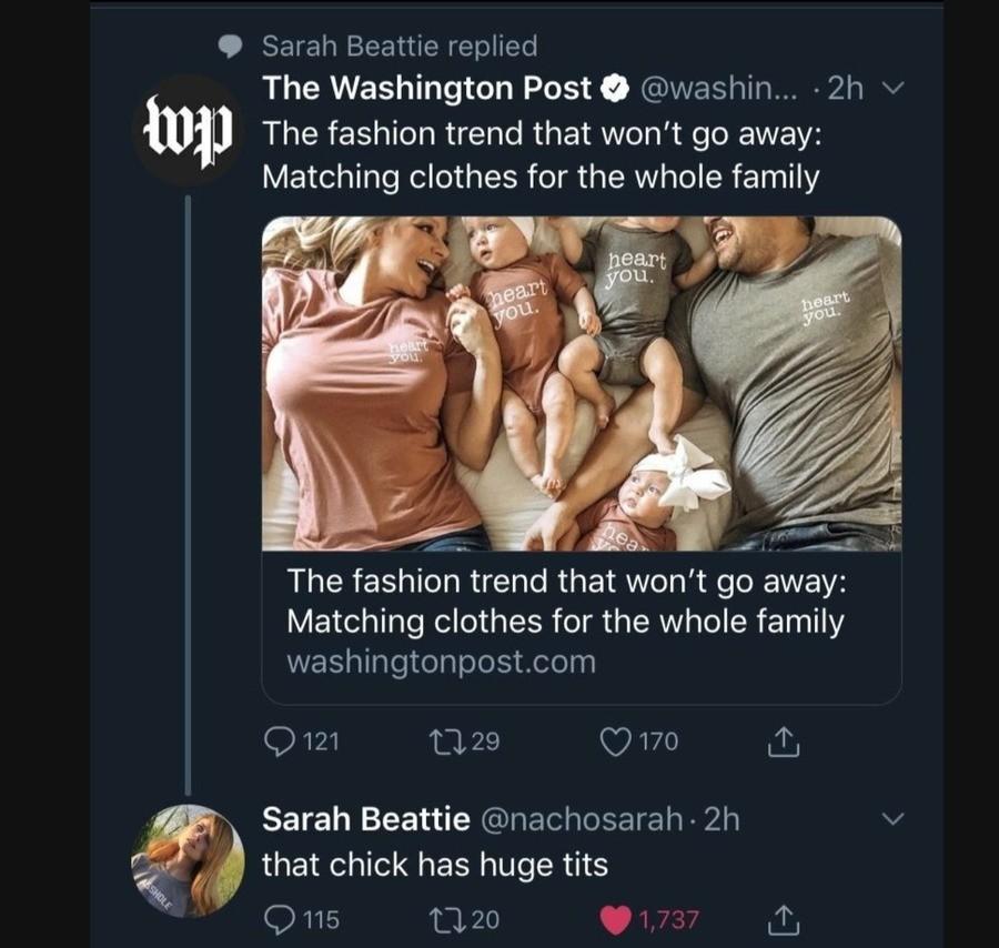 fashion. .. yeah she does, gotta feed all them babies