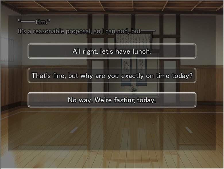 Fate/Skip Lunch. RIP Shirou... Sauce is the first route of the Fate/Stay Night visual novel.. In All right, let' s have lunch. I That' s fine, but why are you e