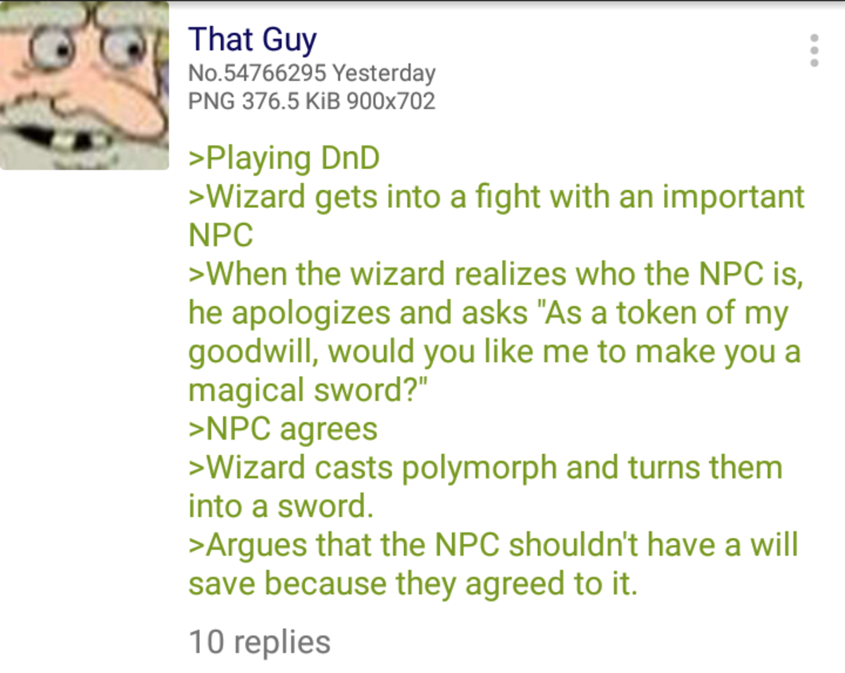 Fa/tg/uy deals with that guy.. . r' Ill 'I That Guy No. Yesterday PNG 376. 5 Kib 900x702 splaying Dnt) gets into a fight with an important NPC the wizard realiz