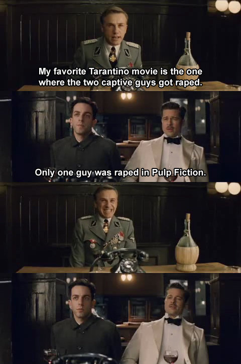 Favorite Tarantino Movie. . My favorite Te_ ren_ tiime' movie is the ' where the :.? Jett get repaid. --. an iii? Fiction. Only one gustat rahat' i' Pi: